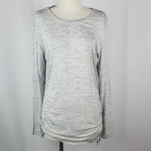 APT.9 Cement Long Sleeve Top